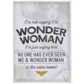 I'm Not Saying I'm Wonder Woman Wood Decor