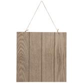 Brown Shiplap Wood Wall Decor