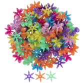 Sunburst Plastic Beads