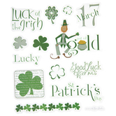 St. Patty's Day Stickers
