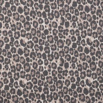 Leopard Print Waffle Apparel Fabric