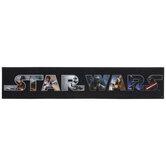 Star Wars Characters Wood Wall Decor