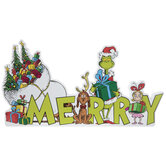 The Grinch Merry Wood Decor