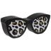 Leopard Print Sunglasses Wood Decor