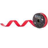 "Red Grosgrain Ribbon - 7/8"""