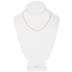 Fine Figaro Chain Necklace - 16