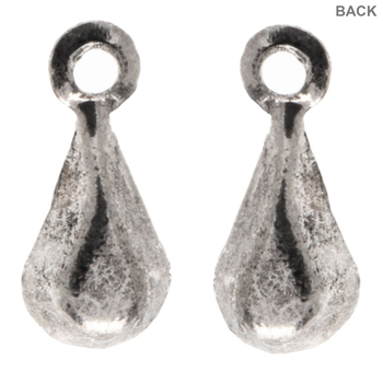 Iridescent Rhinestone Teardrop Charms