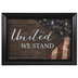 United We Stand Framed Wall Decor