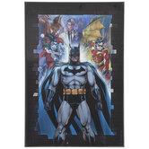 Heroes & Villains Batman Lenticular Wood Wall Decor