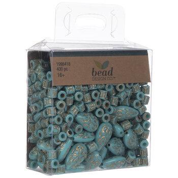 Turquoise Teardrop Beads