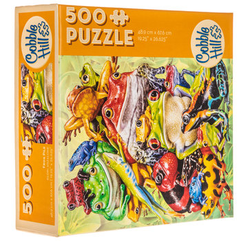 Frog Pile Puzzle