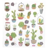 Cactus Foil Stickers