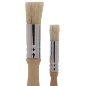 Stipple Paint Brushes - 2 Piece Set