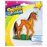 Horse Makit & Bakit Suncatcher Kit