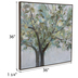 Abstract Tree Canvas Wall Decor