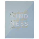 Blue Kindness Notebook