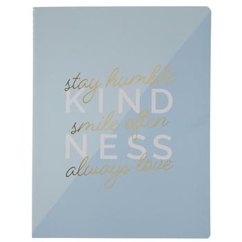 Blue Kindness Notebook