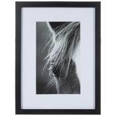 Black & White Horse Eye Framed Wall Decor