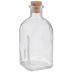 Square Glass Bottle