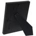 Black Wide Scoop Wood Frame - 4