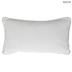 White & Gold Gather Pillow