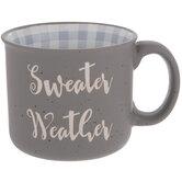 Sweater Weather Speckled Mug