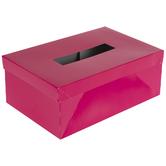 Pink Paper Valentine Box