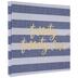 Twenty Twenty-One Striped Post Bound Scrapbook Album
