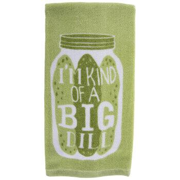 I'm Kind Of A Big Dill Kitchen Towel