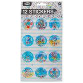 Confetti Dome Stickers