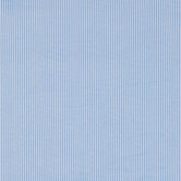 Blue & White Striped Flannel Fabric