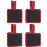Red Chalkboard Clips