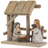 Nativity Scene & Stable