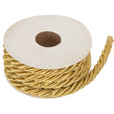 Gold Metallic Twisted Cord - 1/4""