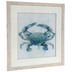 Watercolor Crab Framed Wall Decor