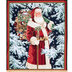 Vintage Santa Panel Cotton Fabric