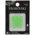 Electric Green Swarovski Xirius Hotfix Crystals - 16ss