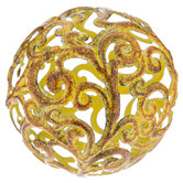 Fancy Metal Decorative Sphere