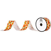 Pumpkin Grosgrain Ribbon - 1 1/2""