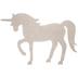 Unicorn Chipboard Shape - Large