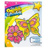 Butterfly Makit & Bakit Glittering Suncatcher Kit