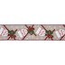 Merry Christmas Gift Tag & Bow Wired Edge Ribbon - 2 1/2
