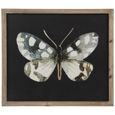 Gray & White Butterfly Wood Wall Decor