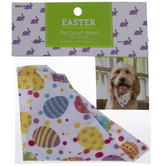 Patterned Eggs Pet Scarf