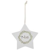 Noel Star Ornament
