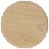 Round Wood Plaque - 9