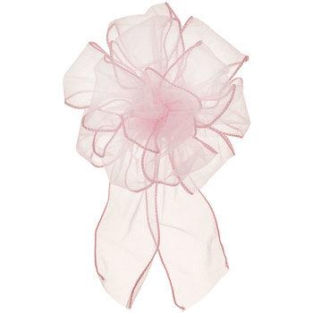 Light Pink Organza Loop Bow