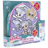 KindiKids Color N Style Backpack Craft Kit
