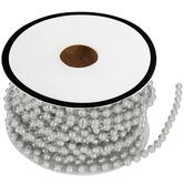 "Silver Pearl Trim - 1/8"""