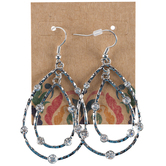 Double-Teardrop Earrings